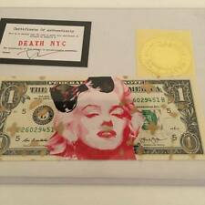 Marilyn Monroe note - Death Nyc street art banksy jonone cope2 seen graffiti