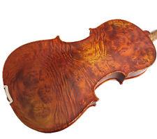 "Used/Old 16"" Viola - Beautiful Birds Eye Back +Square Case  # VA008"