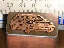 VW VOLKSWAGEN  GOLF 3   schöner Oldtimer Stempel / Siegel aus Metall