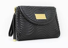 VERSACE PARFUMS  BLACK  LADIES CLUTCH / HANDBAG / EVENING BAG *NEW