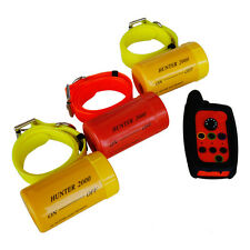 Remote Dog Beeper Collar HUNTER 2000 FOR 3 DOGS