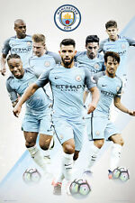 MANCHESTER CITY - 2017 PLAYERS POSTER - 24x36 - FOOTBALL SOCCER 34164