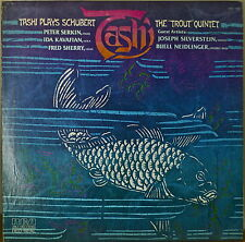 "TASHI PLAYS SCHUBERT: The ""Trout"" Quintet M1977LP EMB COV PROM SERKIN/KAVAFIAN"