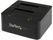 StarTech.com Universal Hard Drive Docking Station 2.5 and 3.5 Inches HDD and SSD