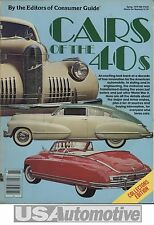 CARS OF THE 40S BY THE EDITORS OF CONSUMER GUIDE 1979 AUTOMOBILE BOOK