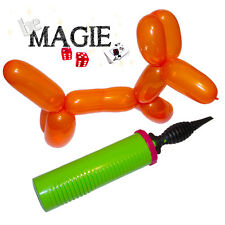 Pompe double action QUALATEX - Sculpture sur ballons