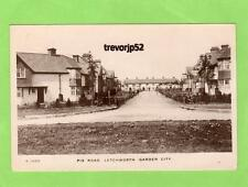 Pix Road  Letchworth Garden City RP pc used 1909 WHS Kingsway Ref A679