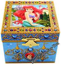 Disney Parks Little Mermaid Princess Ariel Music Under The Sea Jewelry Box (NEW)