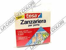 TESA - ZANZARIERA PER PORTE E FINESTRE CON VELCRO - 2 PEZZI DA 250 X 65 cm
