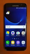 Samsung Galaxy S7 Edge SM-G935W8 32GB Black Onyx (Bell Mobility) Good Condition