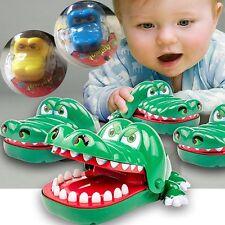Kids Crocodile Mouth Dentist Bite Finger Funny Family Game Baby Toys Children