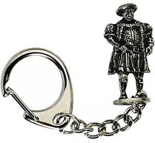 Henry VIII Keyring Pewter Figure Tudor King of England Royal Navy Reformation