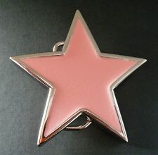 PINK STAR SKY SYMBOL SEXY FASHION STYLES BELT BUCKLE BOUCLE DE CEINTURE