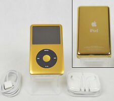 Apple iPod Classic 7th Generation Gold & Black (120 GB) w/ SSD Solid State Drive