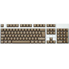 Max Keyboard ISO 105-key Cherry MX Replacement Keycap Set 6.25x (Brown / Blank)