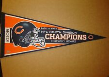 2006 Chicago Bears North Division Champions NFL Football Pennant