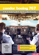 Condor Boeing 767 Frankfurt-Mauritius - Cockpit-Flüge - DVD