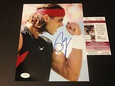 Rafael Nadal Tennis Signed Auto 8x10 PHOTO JSA COA Certified