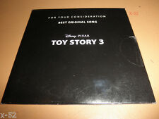 TOY STORY 3 song OSCAR PROMO cd RANDY NEWMAN for your consideration SINGLE