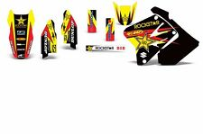 Decal Graphic Kit Suzuki RM 125 RM 250 01-09 RM250 Dirtbike MX Rim Trim Deco RS
