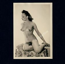 #328 RÖSSLER AKTFOTO / NUDE WOMAN STUDY * Vintage 1950s Studio Photo - no PC !