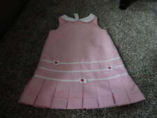 BOUTIQUE FLORENCE EISEMAN 4 PINK STRIPED DRESS