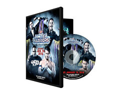 Official ROH Ring of Honor - Winter Warriors 2016 Collinsville Event DVD