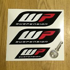 STICKER MOTO WP SUSPENSION WELCOME PARADISE ADESIVI AUFKLEBER VINILO PEGATINA
