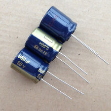 1lot/8PCS Malaysia Panasonic FC 50V 680uF 105c Low ESR Electrolytic Capacitors