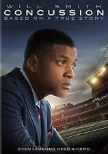 Concussion (DVD, 2016, Includes Digital Copy UltraViolet) NEW