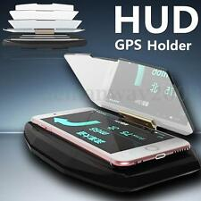 Universal Car Mobile GPS Navigation HUD Head Up Display Bracket For Phone Holder