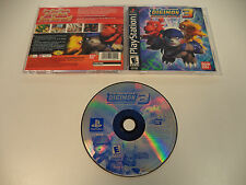 Digimon World 3 Playstation 1 PS1 Game 2002 Complete Black Label Rare Bandai