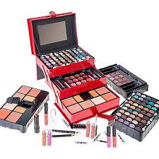 Make Up Kit Starter Set Case Eyeshadow Blush Powder Lipstick Pencils Starter Box