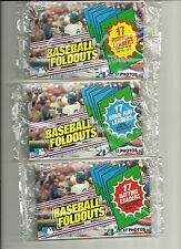 1983 Topps Baseball Factory Sealed Foldouts Baseball Set (Five Sets in One)