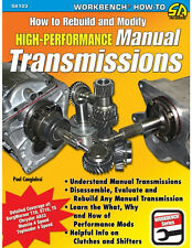 How to Rebuild and Modify High-Performance Manual Transmissions Book~NEW!