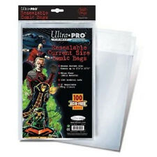 25 Resealable Ultra Pro Current Storage Bags And Boards  Brand New