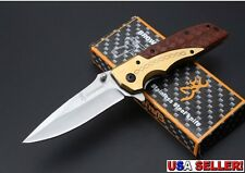 Browning DA77 Quick-Opening Pocket Knife w/Rosewood Handle - Free Shipping!