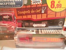 VEHICULE MINIATURE ALTAYA - SEMI-REMORQUES D EXCEPTION - 1 - WILLEME LC610T 1952