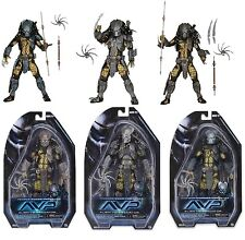 NECA PREDATOR SERIES 15 SET of 3 - TEMPLE GUARD, SCAR & WARRIOR ACTION FIGURES