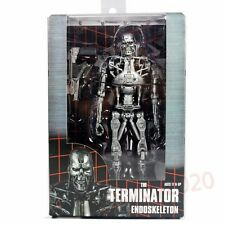 "NECA The Terminator Endoskeleton T-800 with Plasma Rifle 7"" Action Figure"