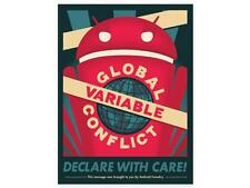 ANDROID FOUNDRY DESIGN GLOBAL VARIABLE CONFLICT POSTER