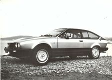 Alfa Romeo GTV6 original press photo