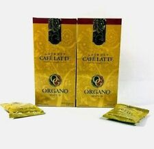 2 Boxes Organo Gold Cafe Latte 100% Organic Ganoderma Gourmet Express Ship
