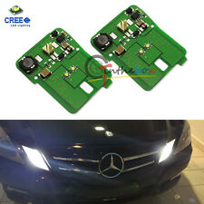 HID Matching White LED Parking Position Light For 10-13 Mercedes E-Class Pre-LCI