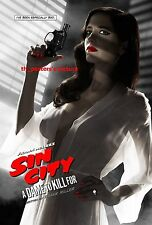 "Eva Green Poster Sin City Movie Art Sexy Silk Posters Wall Decor 12x18"" SC3"