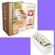 Infantino Squeeze Station AND SLEEVE puree pouch baby food smoothies drink fresh