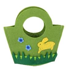 Easter Rabbit Candy Sweet Small Gift Bag Wall Door Hanging Decoration Green