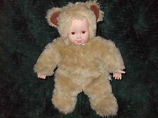 """Anne Geddes 15"""" tan bear by Unimax"""