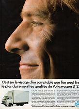 Publicité Advertising 1989  VOLKSWAGEN LT 35 Utilitaires de VW