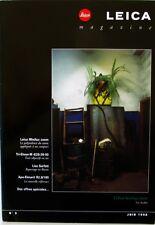 LEICA Magazine n°9 - Juin 1998 - Lise Sarfati -  - E LEITZ -